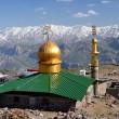 Moschee mit Dorberar Berge