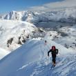 Skitouren in den Lofoten