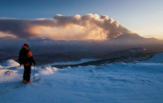 Skitouren auf Kamchatka