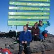 am Kilimandscharo Gipfel