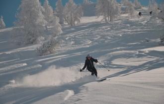 Varianten Schifahren in Flims / Laax
