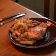Mittagessen auf den Hurtigruten