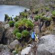 Kratersee am Mount Kenia